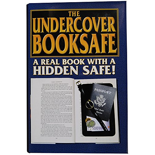 Streetwise Fake Large Hardbound Diversion Book Gun Safe